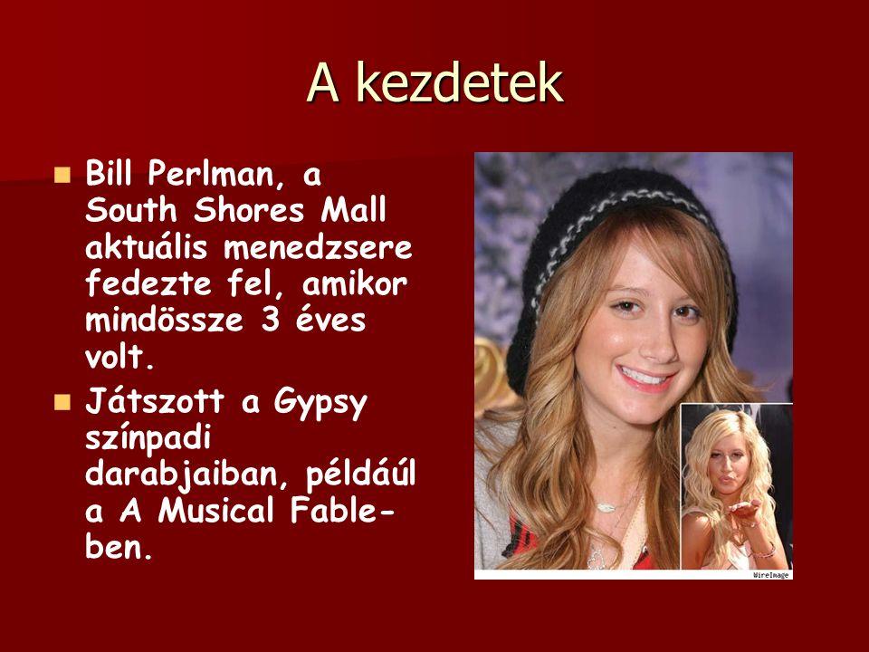 A kezdetek Bill Perlman, a South Shores Mall aktuális menedzsere fedezte fel, amikor mindössze 3 éves volt. Játszott a Gypsy színpadi darabjaiban, pél