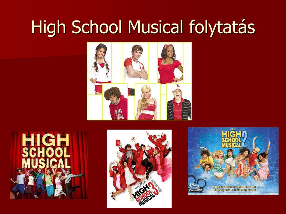High School Musical folytatás