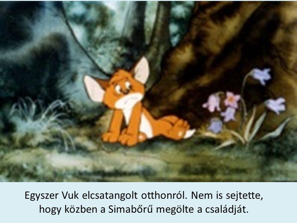 Amint az erőben bolyongott, találkozott Karakkal.Az öreg róka magával vitte a barlangjába.