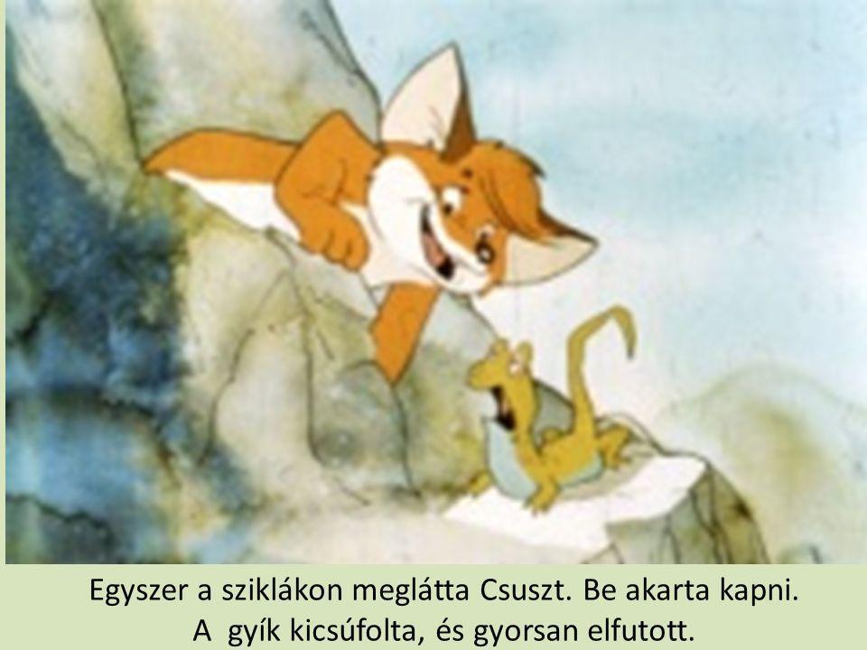 Karak megtanította Vukot az igazi vadászatra is.