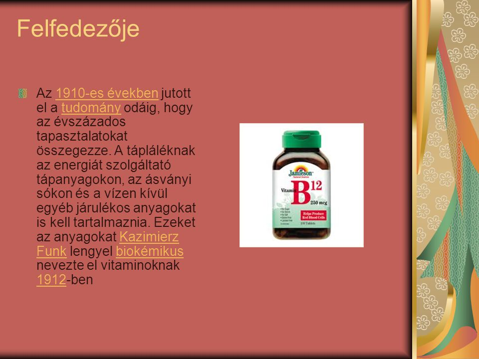 Miért szükséges A B12-vitamin más néven ciano- kobalamin.