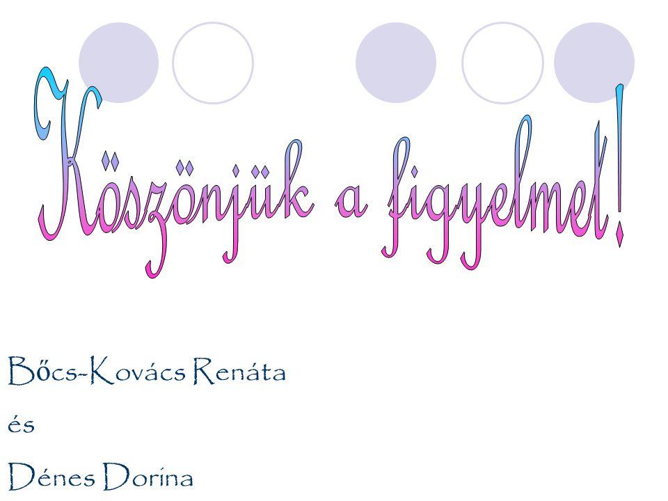 B ő cs-Kovács Renáta és Dénes Dorina