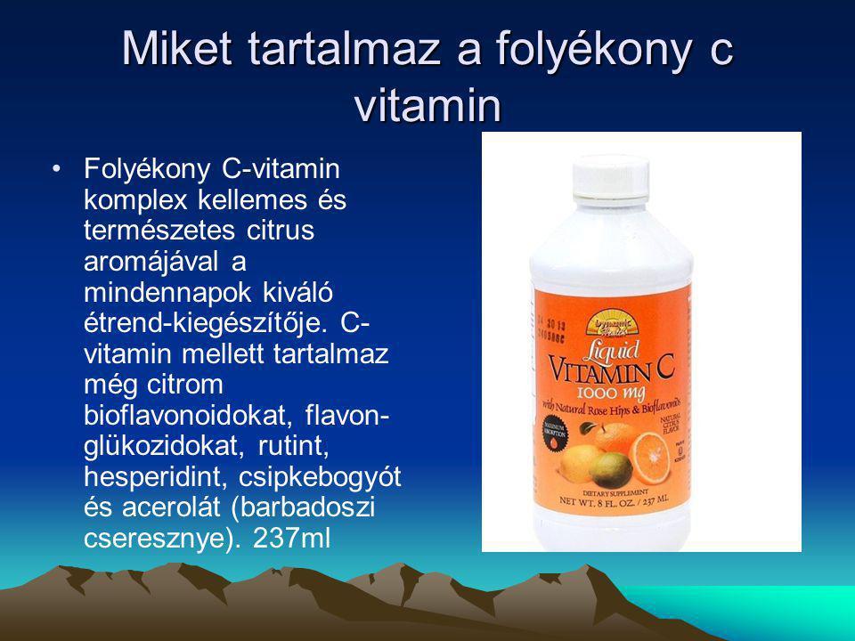 A c vitamin felfedezése Szent-Györgyi Albert 1928-ban felfedezett egy addig ismeretlen vegyületet a mellékvesében, melyet azután sikeresen a paprikából is kivont.