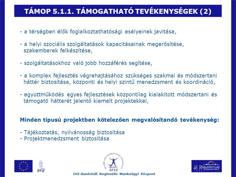 TÁMOP 5.1.1.
