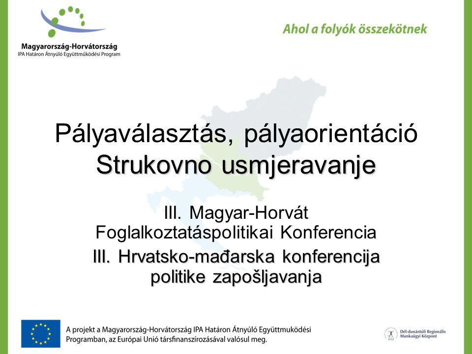 Strukovno usmjeravanje Pályaválasztás, pályaorientáció Strukovno usmjeravanje III.