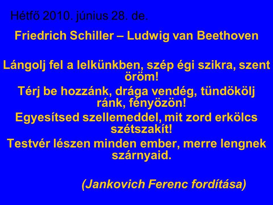 Hétfő 2010. június 28. de.