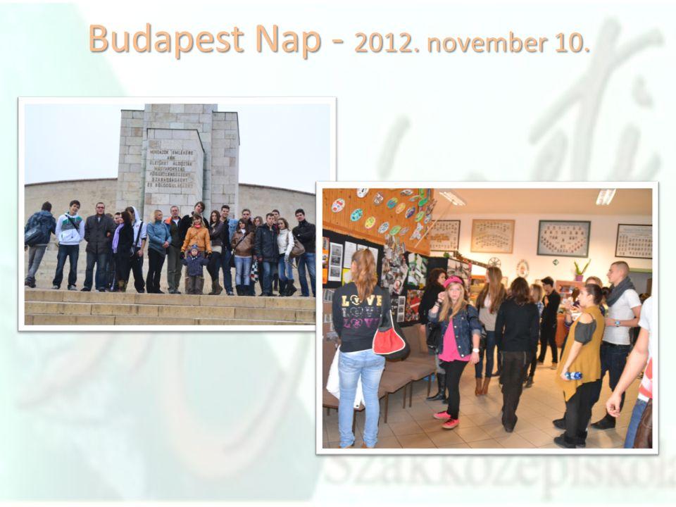 Budapest Nap - 2012. november 10.
