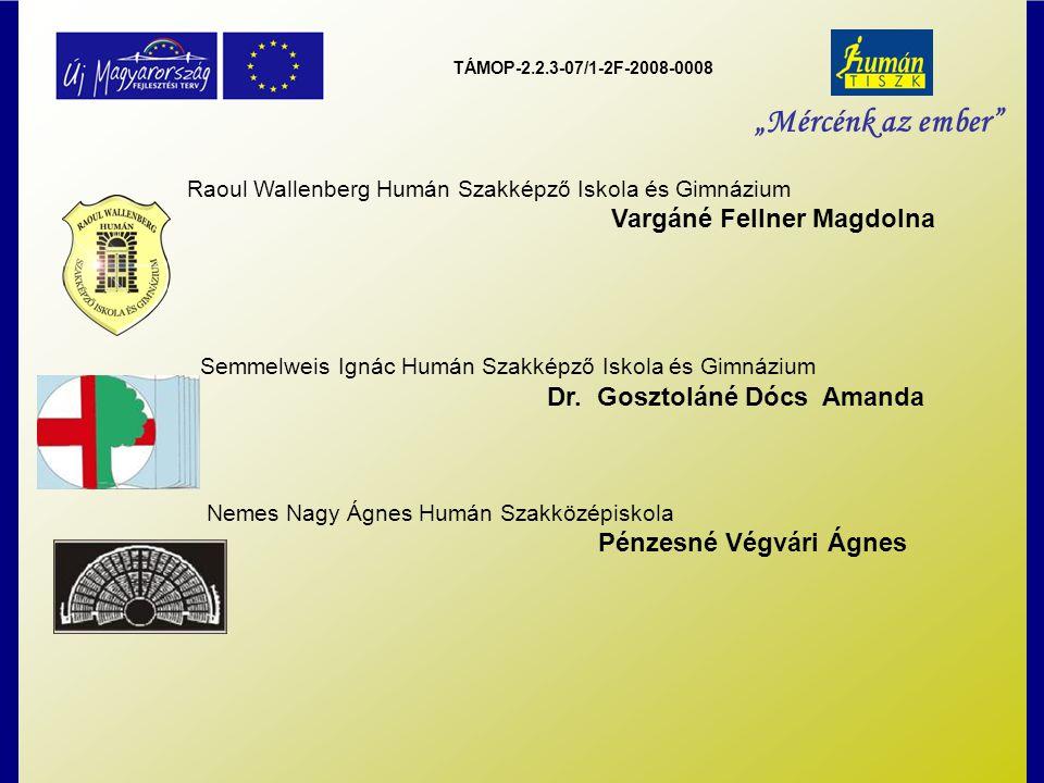 """TÁMOP-2.2.3-07/1-2F-2008-0008 """"Mércénk az ember Feladataink: Továbbképzési tervezet készítése Tanfolyamkínálat felmérése Továbbképzésre jelentkeztetés Iskolán belüli továbbképzés szervezése (tervezés alatt) Felzárkóztató foglalkozások adminisztrációja"""
