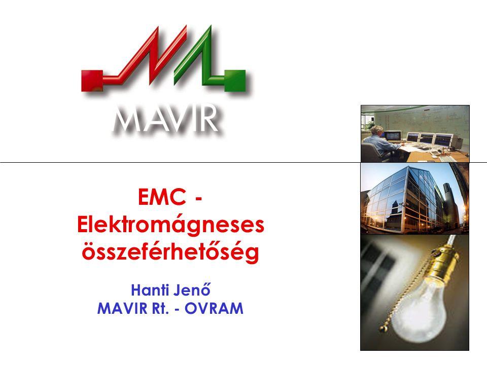 Az EMC elvi áttekintése Megfogalmazás az IEC 60050(161)-01-07 szerint: Valamely berendezésnek vagy rendszernek az a képessége, hogy a saját elektromágneses környezetében kielégítően működik anélkül, hogy környezetében bármi számára elviselhetetlen elektromágneses zavarást idézne elő.