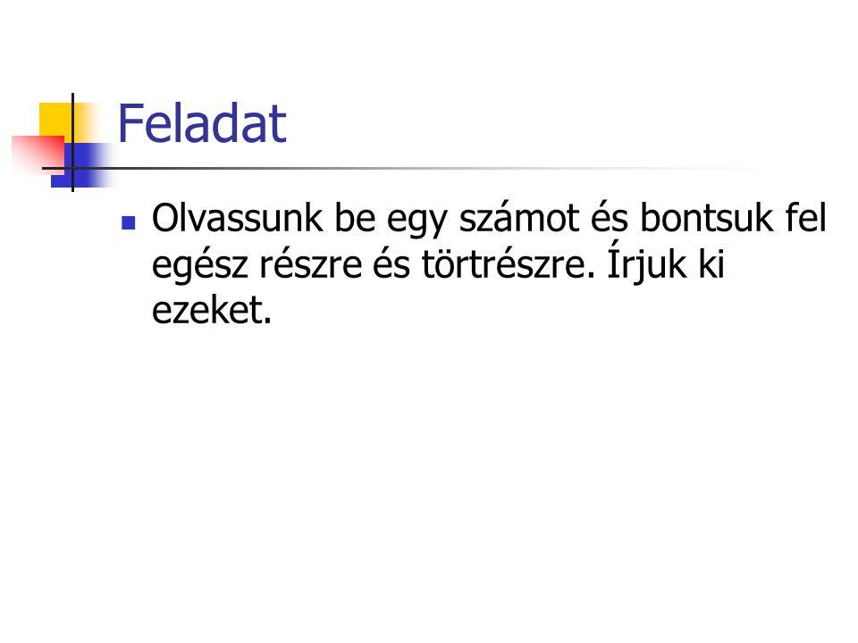 MEGOLDÁS: