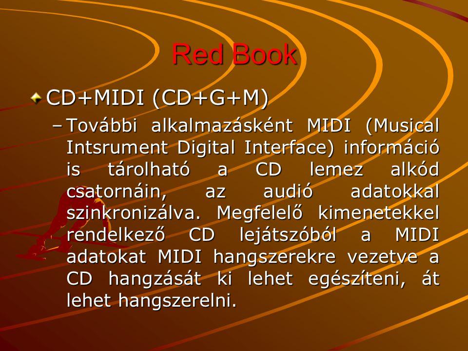 Red Book CD-V Single (CD Video Single) –A CD Video Single olyan 120 mm-es CD formátum, amely kb.