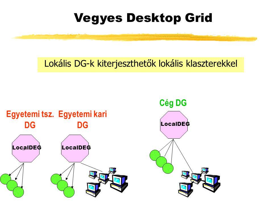 LocalDEG Vegyes Desktop Grid Egyetemi tsz.