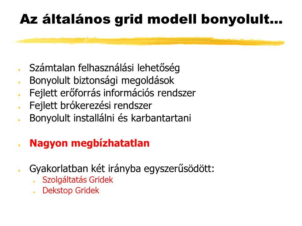 Az általános grid modell bonyolult...
