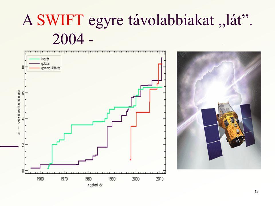 """A SWIFT egyre távolabbiakat """"lát"""". 2004 -. 13"""