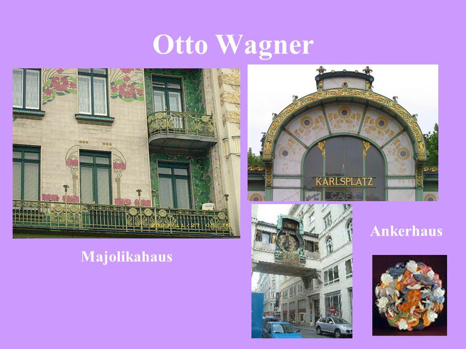 Otto Wagner Majolikahaus Ankerhaus