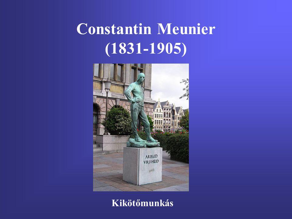 Constantin Meunier (1831-1905) Kikötőmunkás