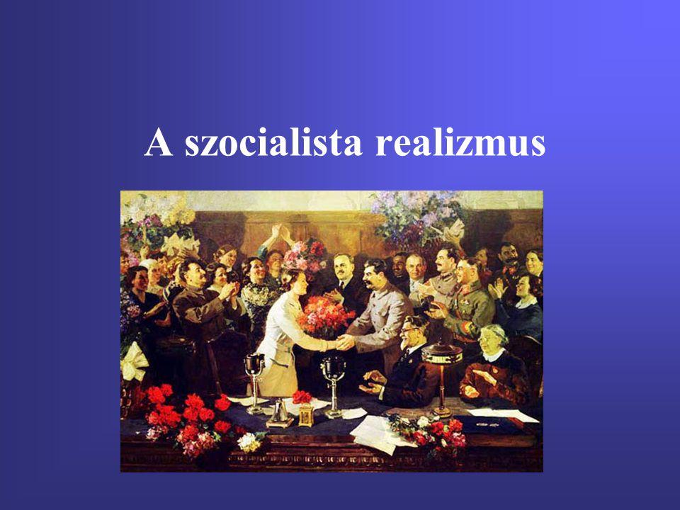 A szocialista realizmus