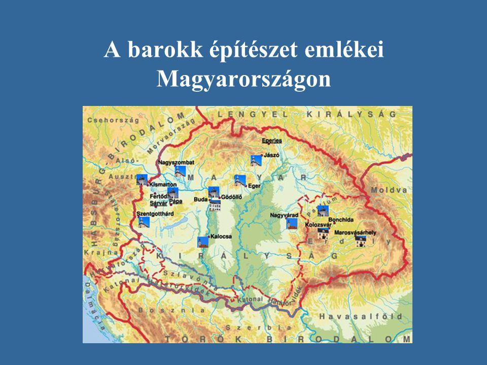 A barokk építészet emlékei Magyarországon