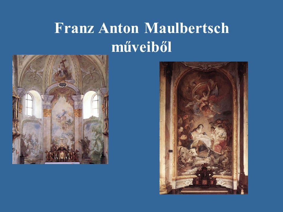 Franz Anton Maulbertsch műveiből