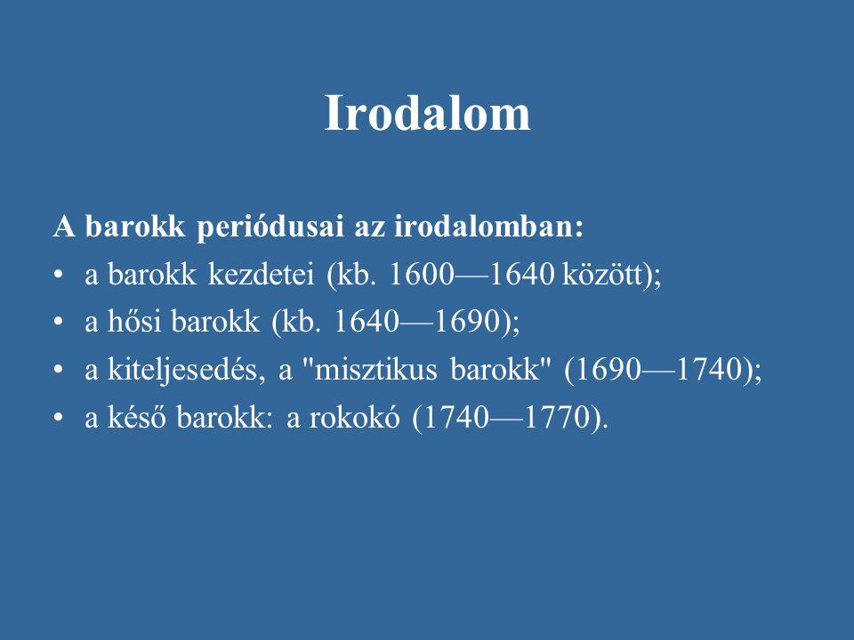 A magyar barokk irodalom kezdetei A magyarországi barokk irodalom egyházi keretek között születik meg Fő szövegtípusai: a prédikáció és a vitairat.