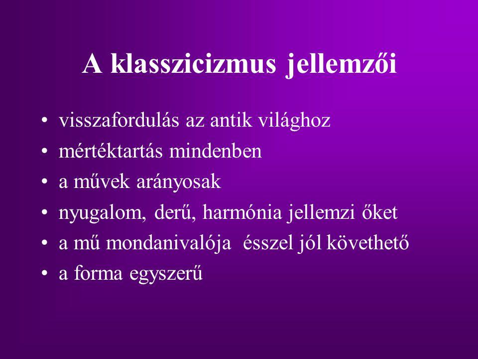 Jellemzői II.