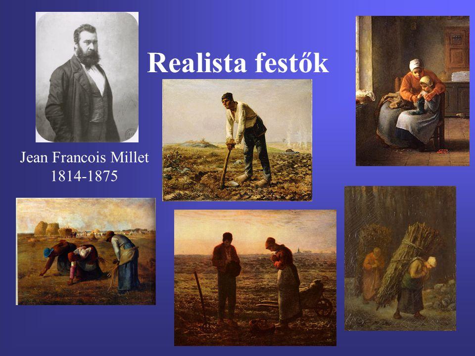 Realista festők Jean Francois Millet 1814-1875
