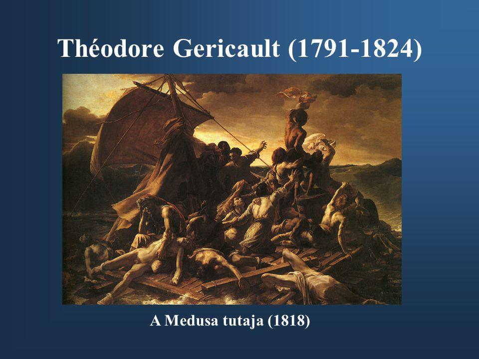 Théodore Gericault (1791-1824) A Medusa tutaja (1818)