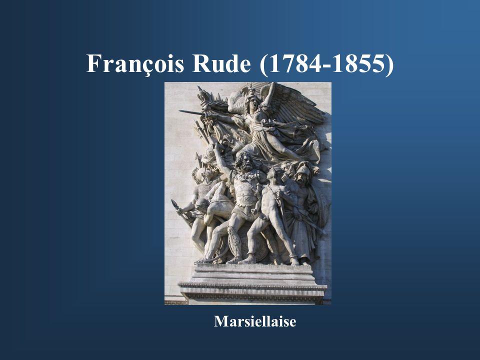François Rude (1784-1855) Marsiellaise