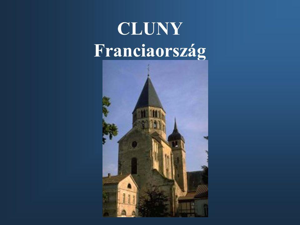 CLUNY Franciaország