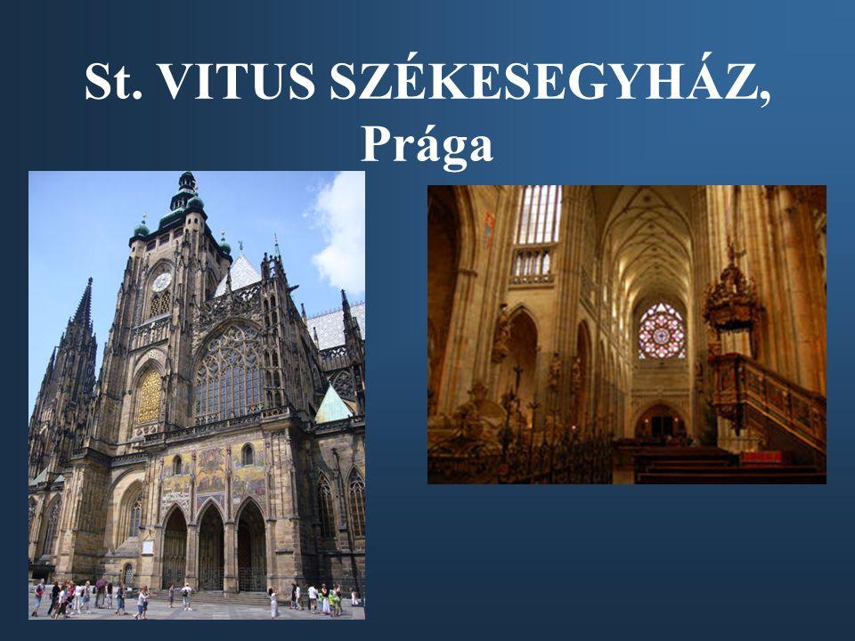 St. VITUS SZÉKESEGYHÁZ, Prága