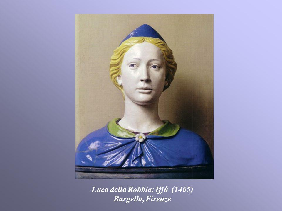 Luca della Robbia: Ifjú (1465) Bargello, Firenze
