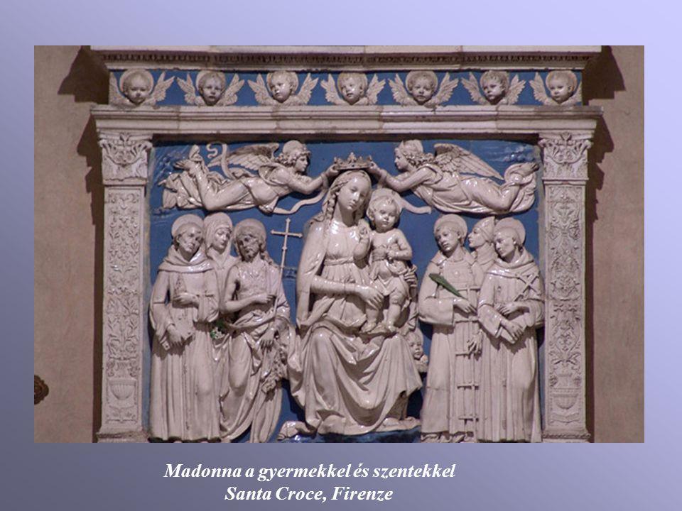 Madonna a gyermekkel és szentekkel Santa Croce, Firenze