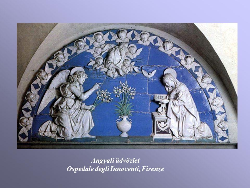Angyali üdvözlet Ospedale degli Innocenti, Firenze