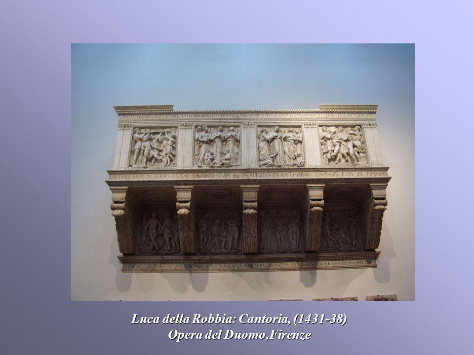Luca della Robbia: Cantoria, (1431-38) Opera del Duomo,Firenze