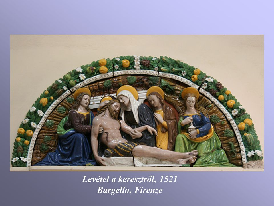 Levétel a keresztről, 1521 Bargello, Firenze
