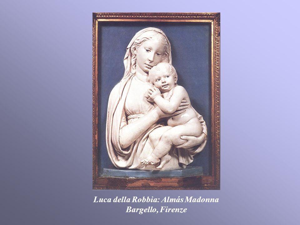 Luca della Robbia: Almás Madonna Bargello, Firenze