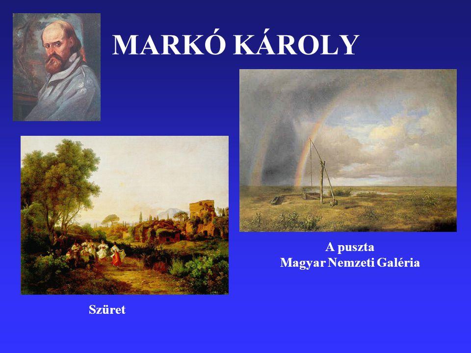 MARKÓ KÁROLY Szüret A puszta Magyar Nemzeti Galéria