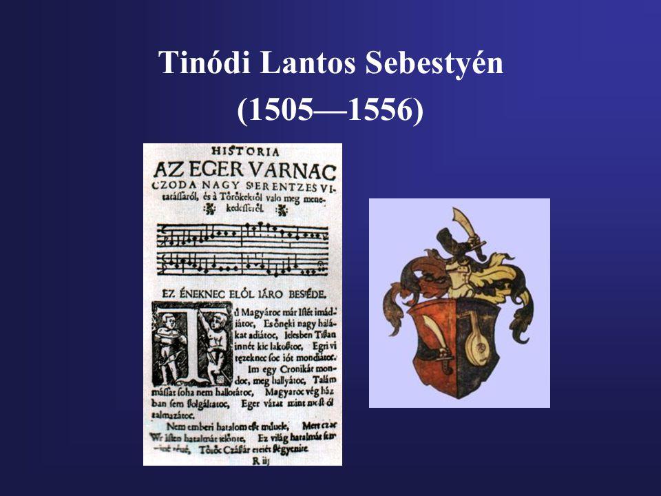 Tinódi Lantos Sebestyén (1505—1556)