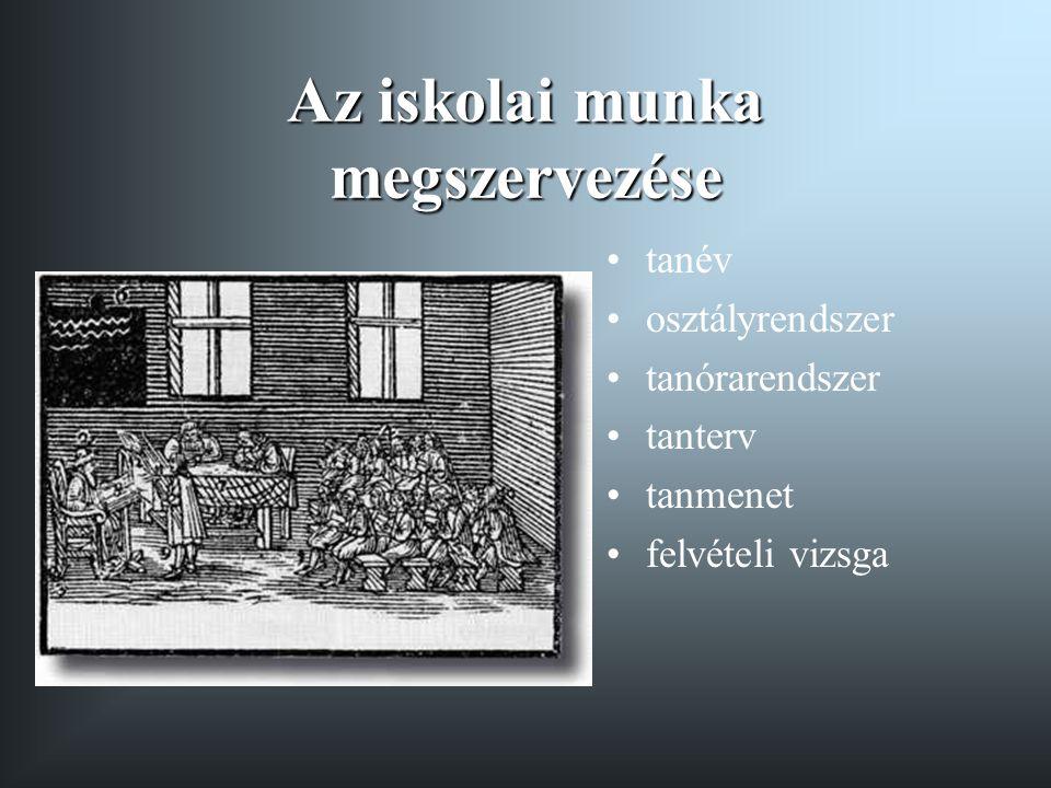 """Comenius Magyarországon 1650-1654 Lorántffy Zsuzsanna meghívása - Sárospatak Cél: a Sárospataki Református Kollégium átszervezése, modernizálása 1650 május: """"A nagyhírű pataki főiskola eszméje 1650 november: """"A képességek kiműveléséről 1651 A hétosztályos panszofikus iskola terve A tankönyvek Comenius távozása Sárospatakról 1654 Lorántffy Zsuzsanna"""