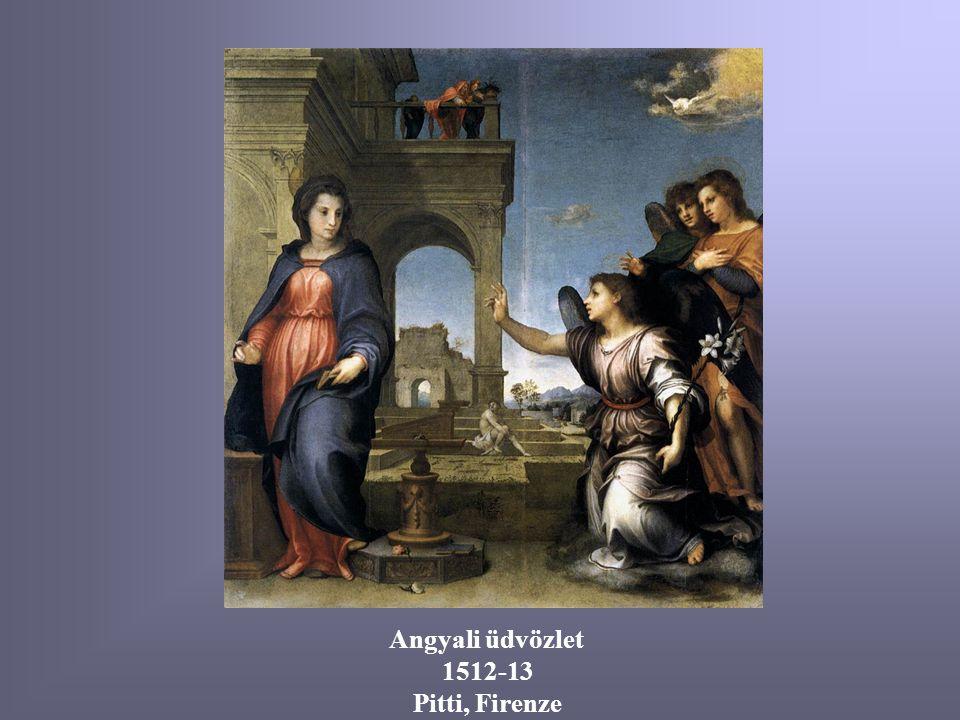 Mária születése (freskó) 1514 Santissima Annunziata, Firenze