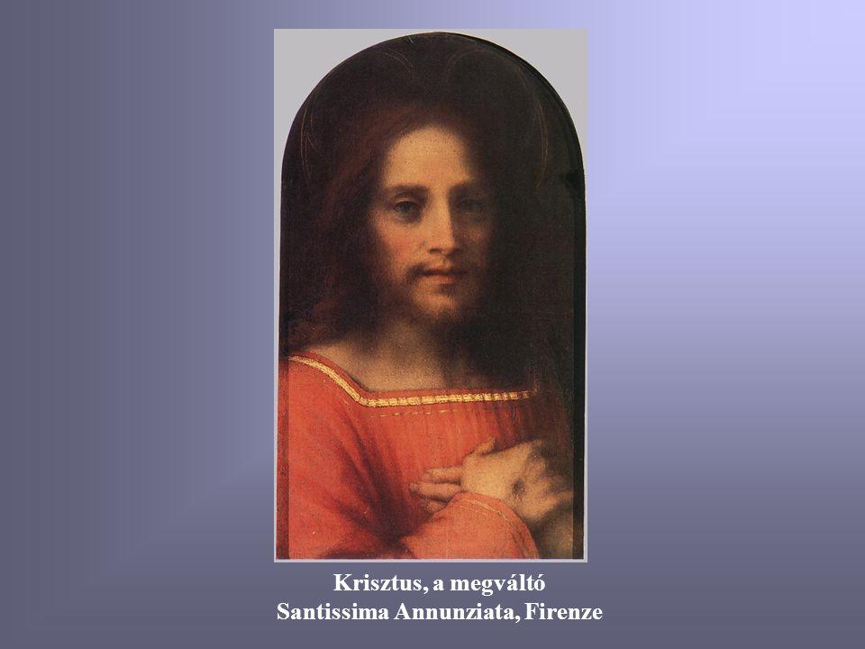 Keresztelés 1515-17 Chiostro dello Scalzo, Firenze