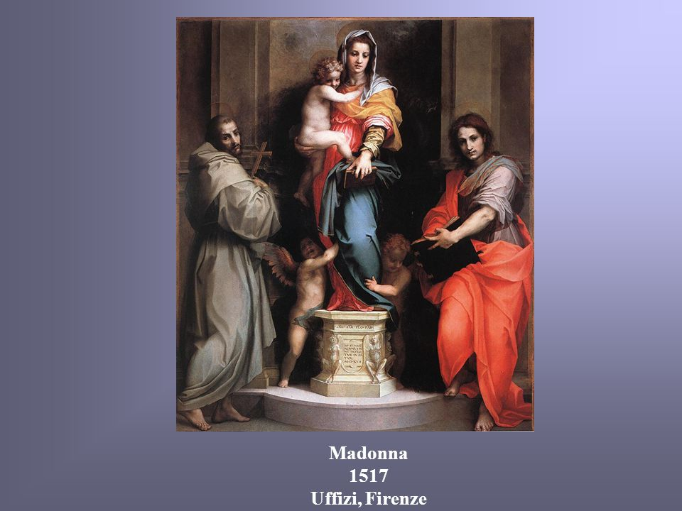 Madonna 1517 Uffizi, Firenze