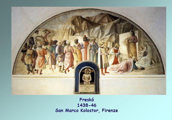 Freskó 1438-46 San Marco Kolostor, Firenze