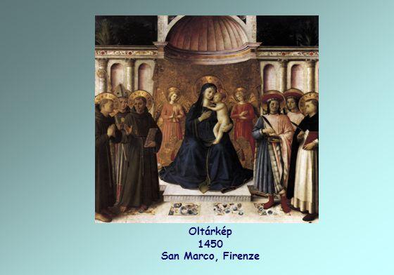 Oltárkép 1450 San Marco, Firenze