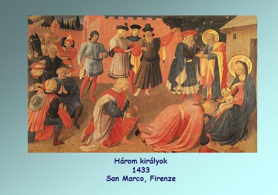 Három királyok 1433 San Marco, Firenze