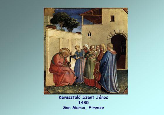 Keresztelő Szent János 1435 San Marco, Firenze