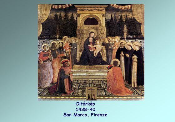 Freskó 1440-41 San Marco Kolostor, Firenze