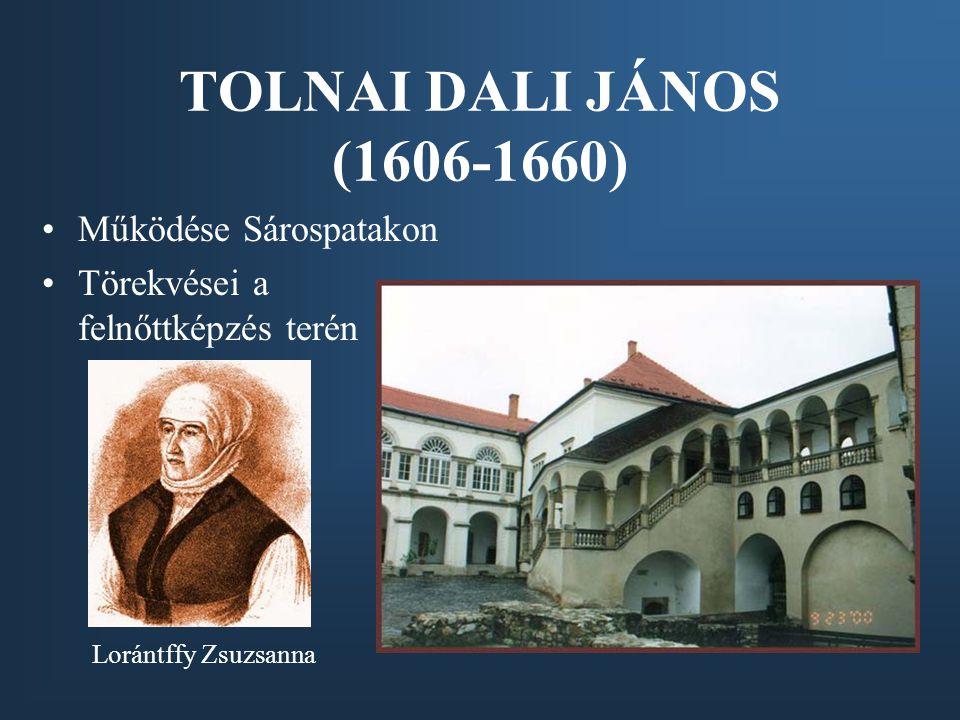 Apáczai Csere János (1625-1659) művelődési elképzelései