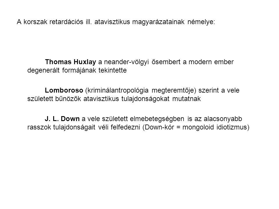 Javasolt irodalom Bereczkei Tamás (1998) A belénk íródott múlt.