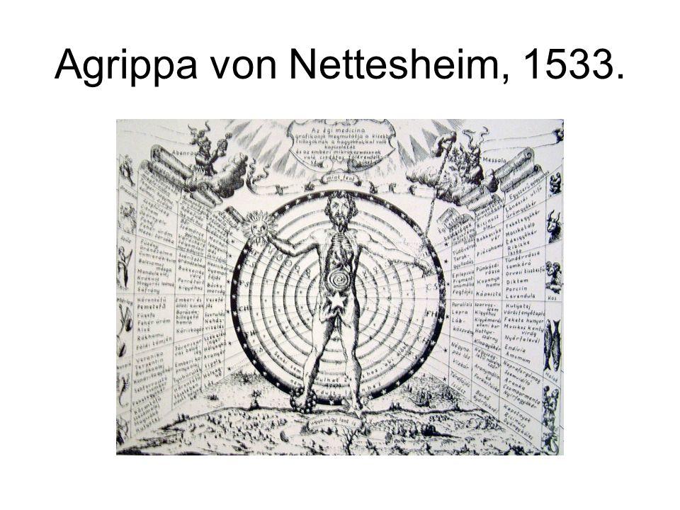 Agrippa von Nettesheim, 1533.